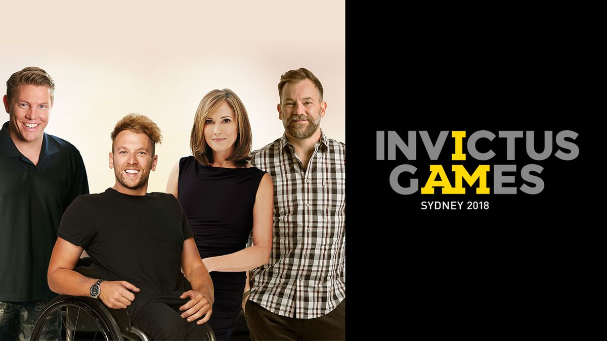 Chris Bath hosts 2018 Invictus Games on ABC TV
