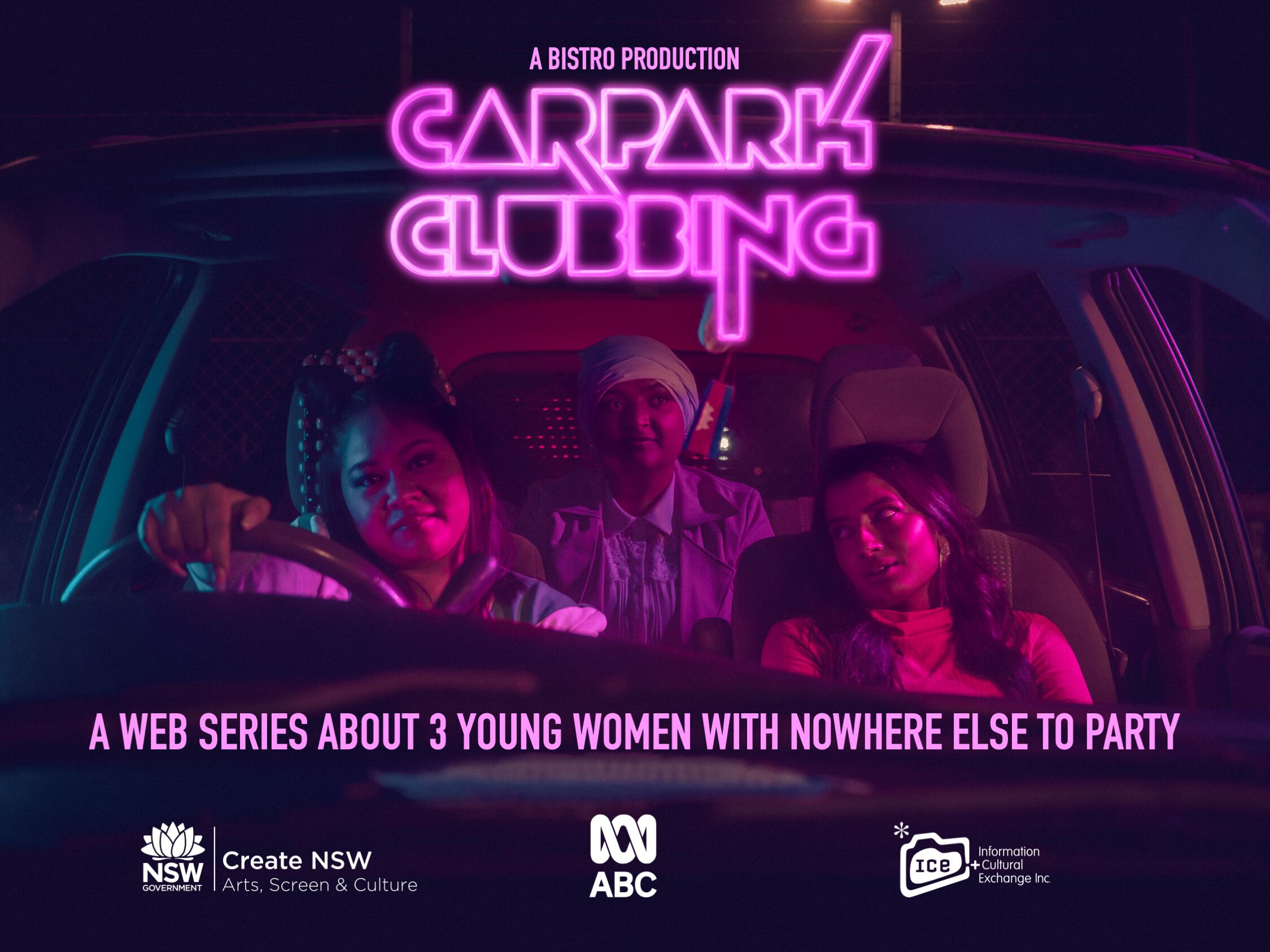 Sarah Bassiuoni Directs Carpark Clubbing for ABC iView